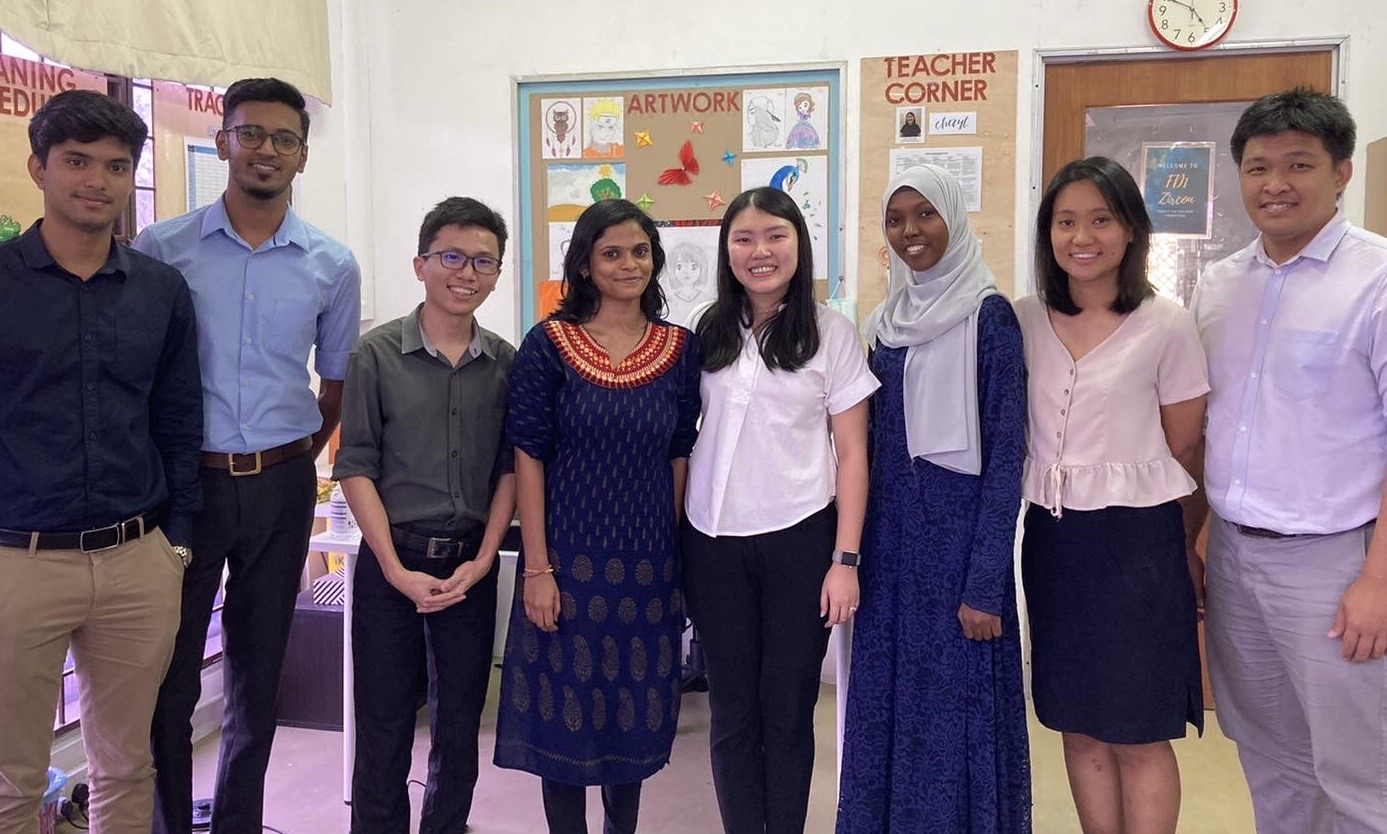 Teacher Shom from Dignity with the IPET team