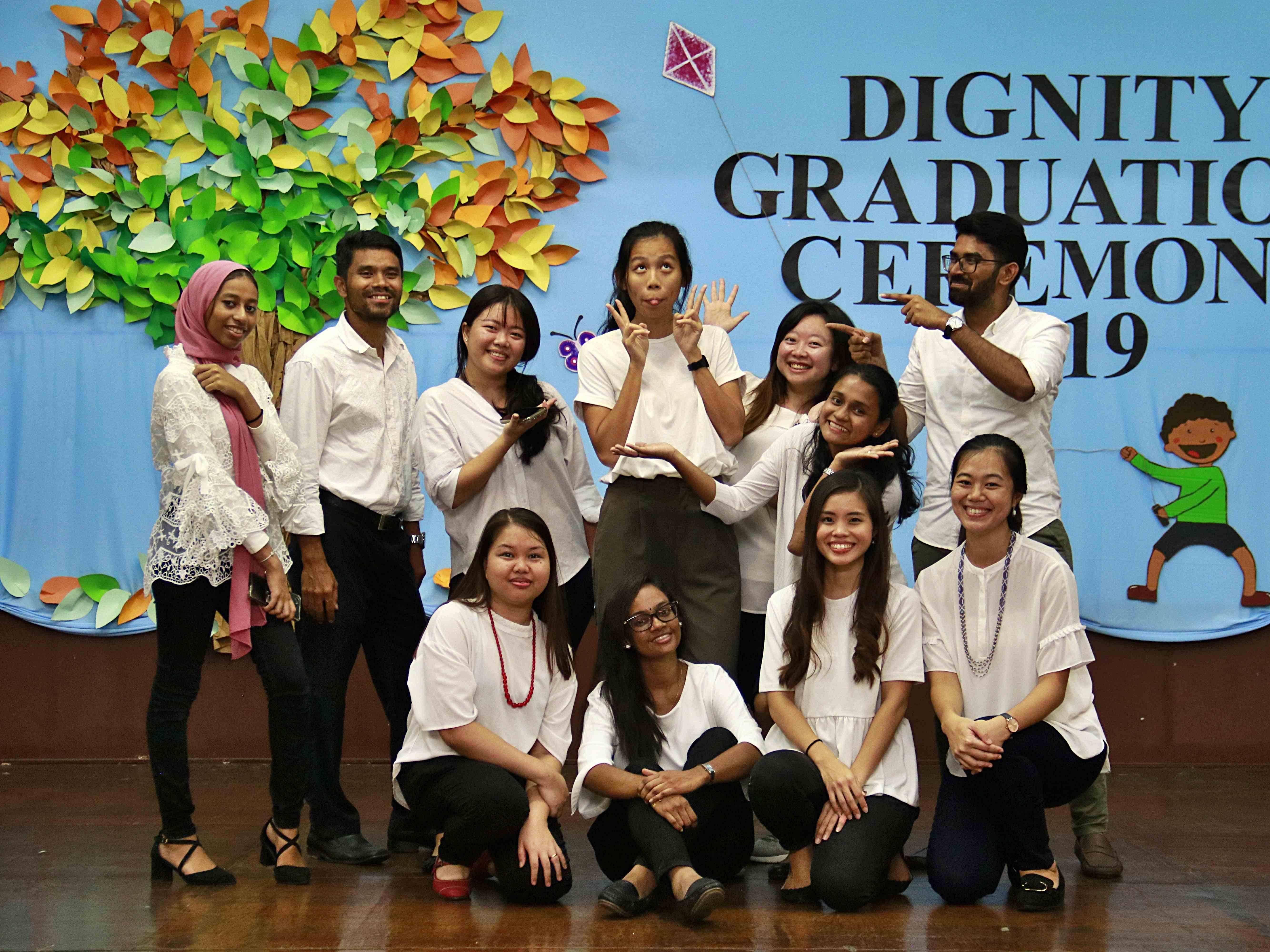Team of Upper Primary teachers during 2019's graduation