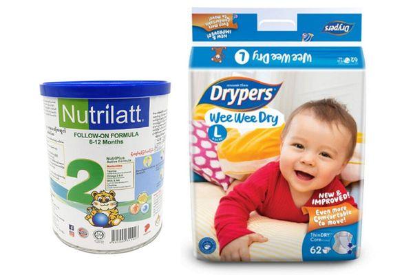 Diapers & Milk Powder